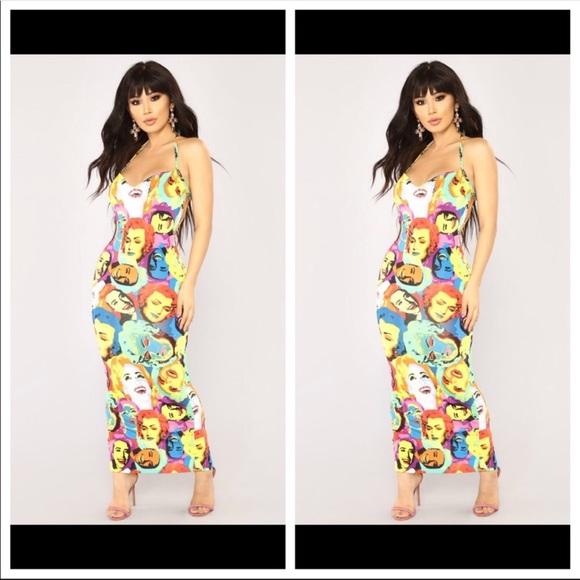 Fashion Nova Dresses & Skirts - 😘 Fashion Nova agaves sexy stretch dress S